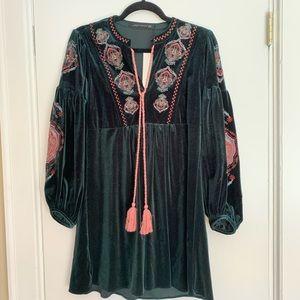 15b525aa Women Embroidered Dress Zara on Poshmark